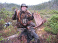 Just another day of moose hunting in Canada.