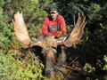 Now the work starts with this guided moose hunt.