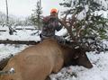More snow elk hunting.