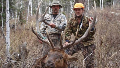 Private ranch DIY elk hunt