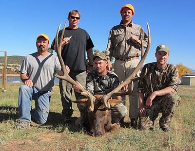 Discount Colorado elk mule deer drop camp hunts.