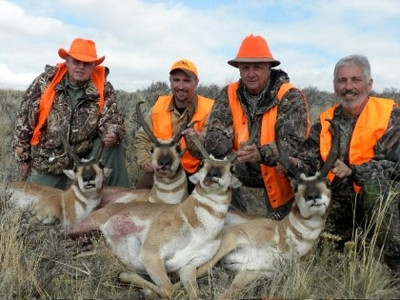 Successful antelope hunt near Craig Colorado