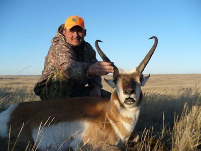 High plains antelope hunt
