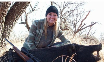 Anyone can hunt hogs in Texas.