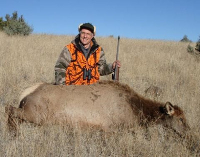 Rifle cow elk hunt in Wyoming