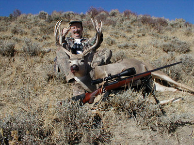 Rifle season Nebraska mule deer.