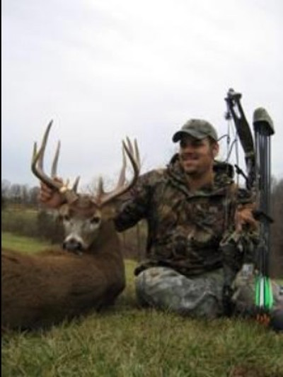 Good archery buck off the lease.