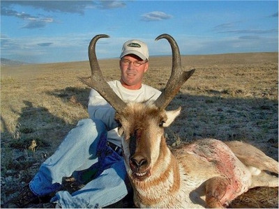 "Trophy pronghorn antelope from 13"" to 16"" in Wyoming."