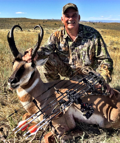 Semi-guided DIY antelope hunt.