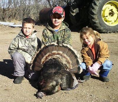 Successful Nebraska turkey hunter.