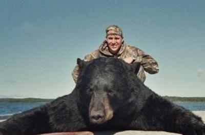 Nice black bear hunting.