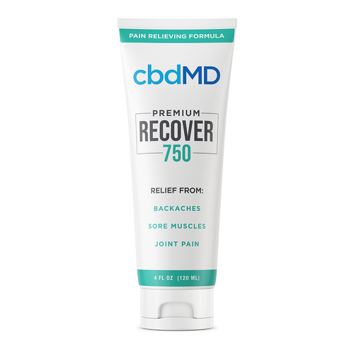 cbdMD Recover - Pain Relieving Formula 750mg