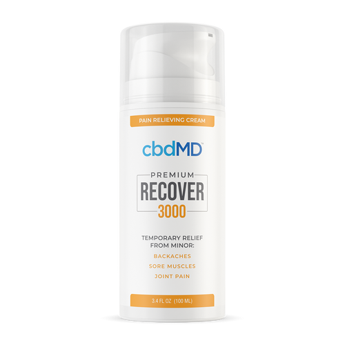 cbdMD Recover - Pain Relieving Cream 3000mg