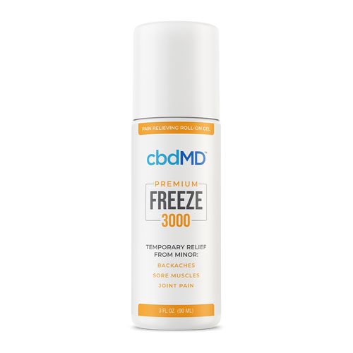cbdMD Freeze - Pain Relieving Roll-On Gel 3000mg