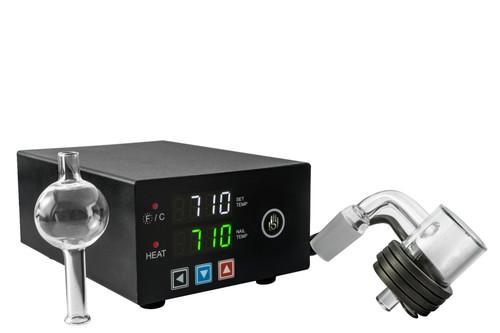 Micro E-Nail Quartz EBanger Kit - High Five Vaporizers