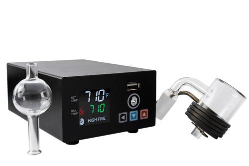 LCD E-Nail Quartz EBanger Kit - High Five Vaporizers