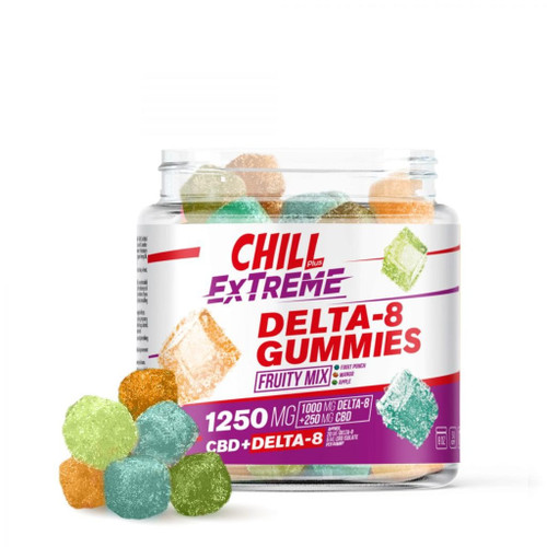 Chill Extreme Delta8  Fruity Mix 1250mg