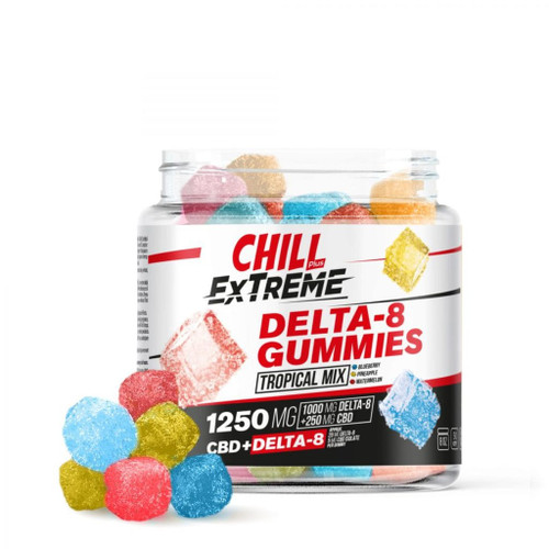 Chill Delta 8 Extreme Tropical Mix 1250mg