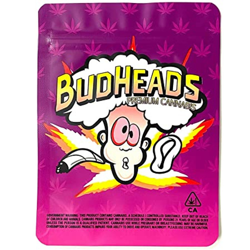 Budheads - Medium Smellproof Bags (Pack of 100)