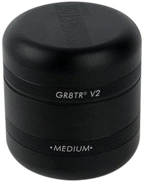 KANNASTOR GR8TR V2 Grinder   Matte Black/ Matte Black