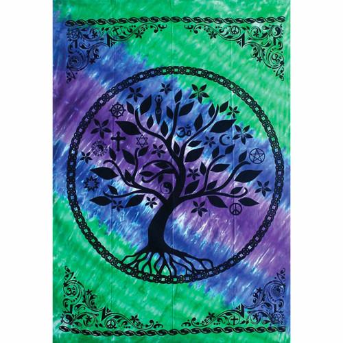 Threadheads Tapestry - Tree of Life (Blue/Purple)