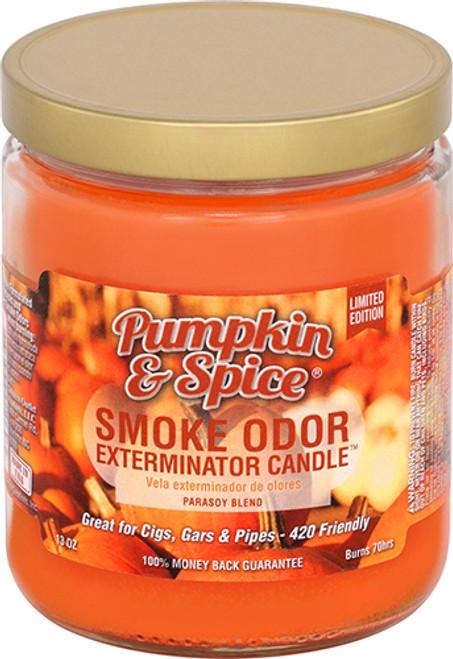 Smoke Odor Exterminator Candle - Pumpkin & Spice