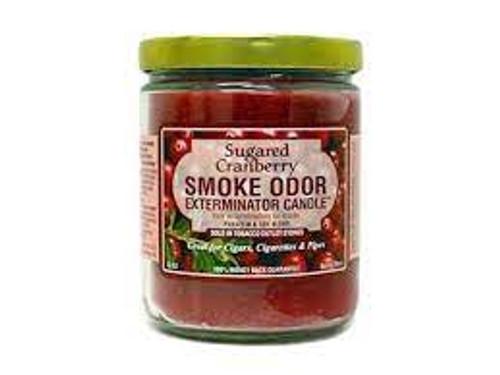 Smoke Odor Exterminator Candle - Sugared Cranberry