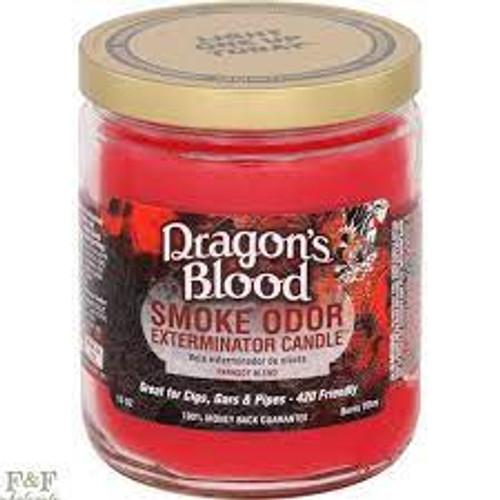 Smoke Odor Exterminator Candle - Dragon's Blood