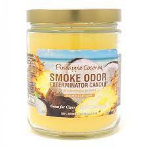 Smoke Odor Exterminator Candle - Pineapple Coconut