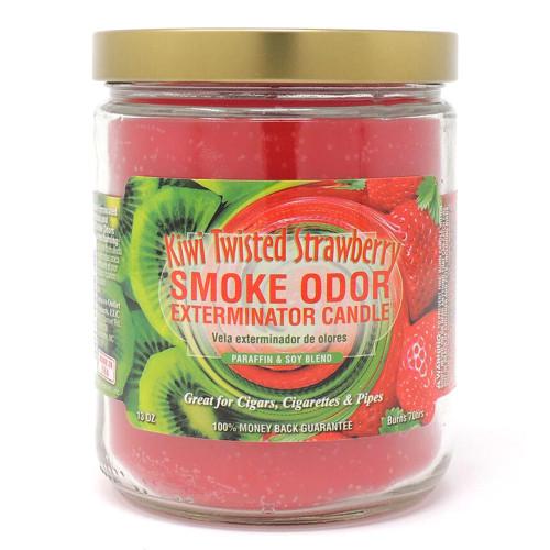 Smoke Odor Exterminator Candle - Kiwi Twisted Strawberry