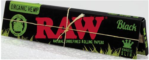 Raw Black organic hemp 1 1/4