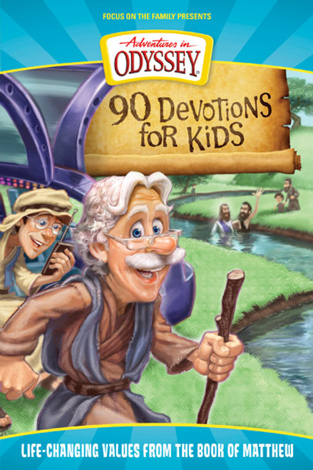 Adventures in Odyssey 90 Devotions for Kids: Life-Changing Values from the Book of Matthew (Digital)