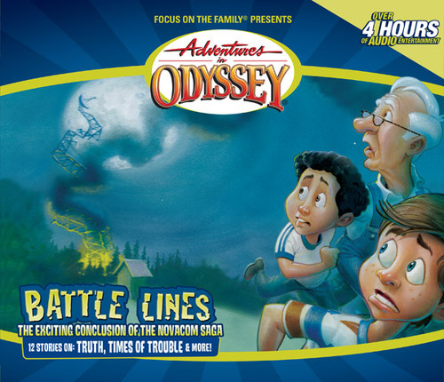 Adventures in Odyssey #38: Battle Lines (Digital)