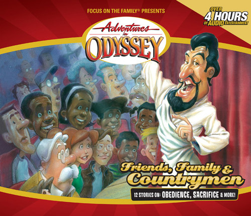 Adventures in Odyssey #39: Friends, Family, and Countrymen (Digital)