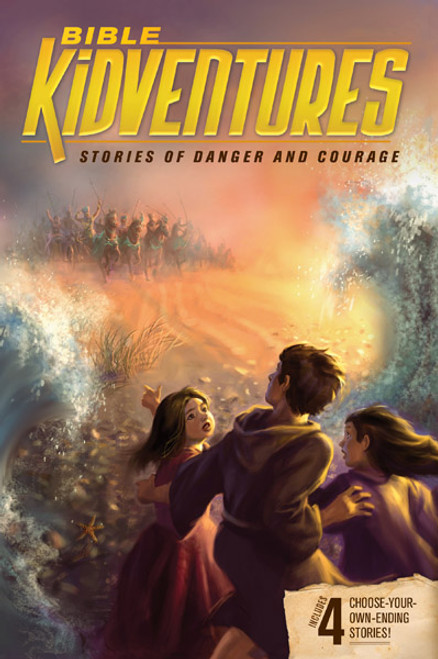 Bible KidVentures: Stories of Danger and Courage (Digital)