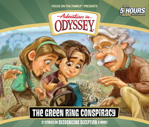 Adventures in Odyssey #53: The Green Ring Conspiracy (Digital)