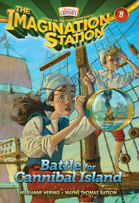 Adventures in Odyssey Imagination Station #08: Battle for Cannibal Island (Digital)