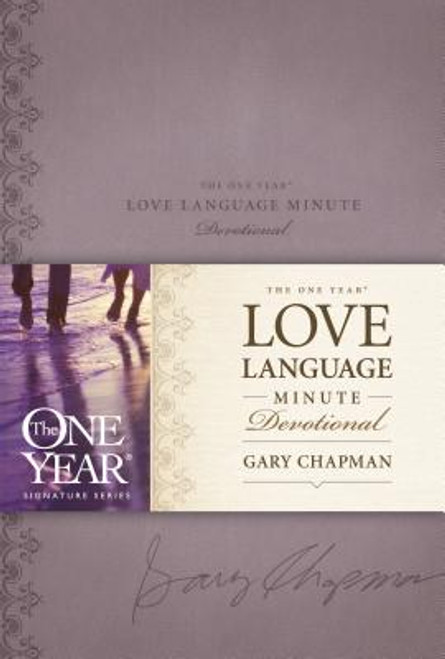 The One Year Love Language Minute Devotional (Leather)