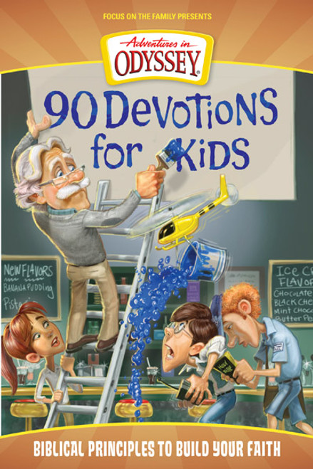 Adventures in Odyssey 90 Devotions for Kids (Digital)