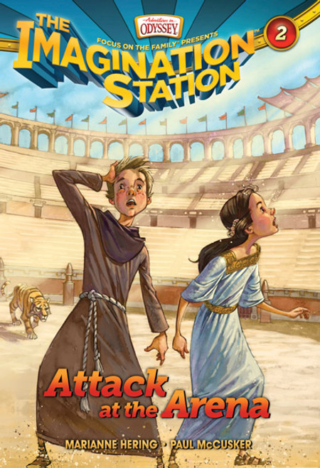 Adventures in Odyssey Imagination Station #02: Attack at the Arena (Digital)