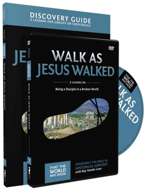 That the World May Know #07: Walk as Jesus Walked DVD + Guide