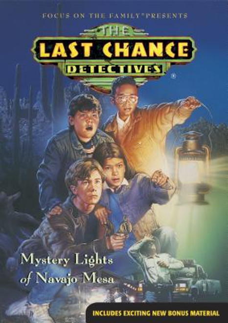 The Last Chance Detectives #1: Mystery Lights of Navajo Mesa