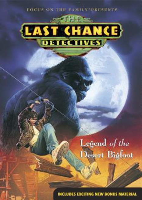 The Last Chance Detectives #2: Legend of the Desert Bigfoot