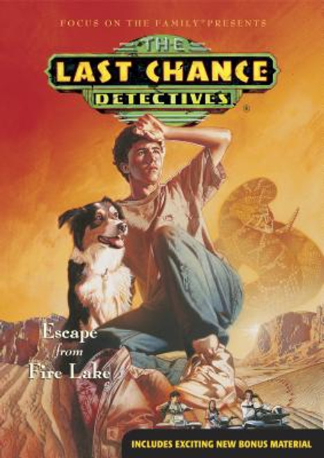 The Last Chance Detectives DVD #3: Escape from Fire Lake