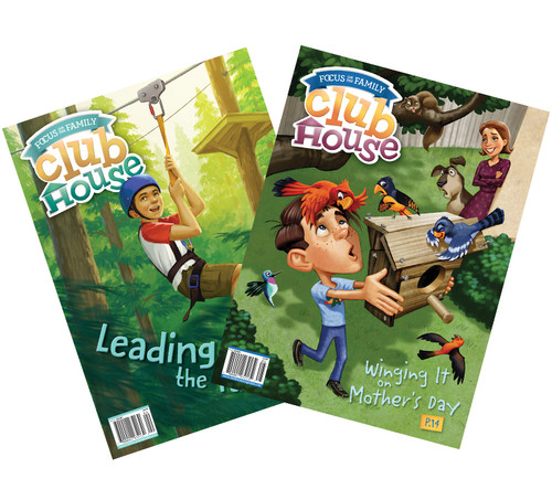 Clubhouse Magazine Subscription - 24 Issues (2 Years, For Ages 8-12)