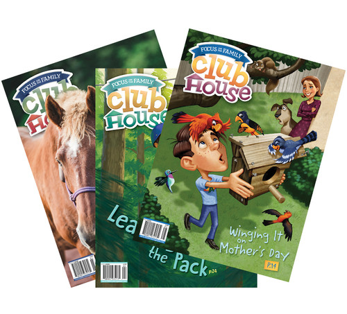 Clubhouse Magazine Subscription - 36 Issues (3 Years, For Ages 8-12)