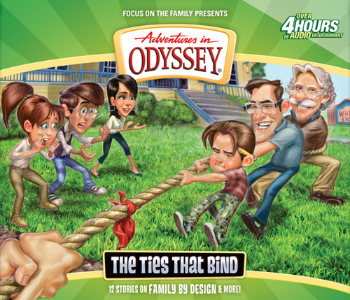 Adventures in Odyssey #58: The Ties That Bind (Digital)