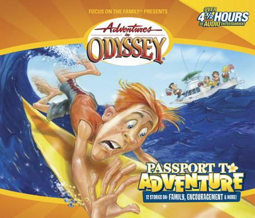 Adventures in Odyssey #19: Passport to Adventure