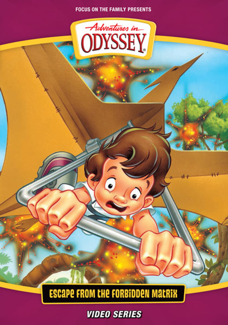 Adventures in Odyssey Video #15: Escape from the Forbidden Matrix (DVD)