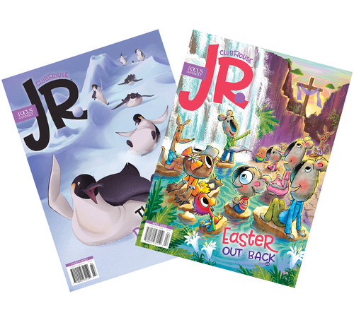 Clubhouse Jr. Magazine Subscription - 24 Issues (2 Years, For Ages 3-7)